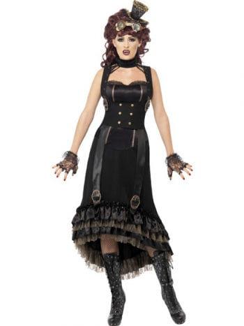 Elegant Steampunk Vampiress Costume