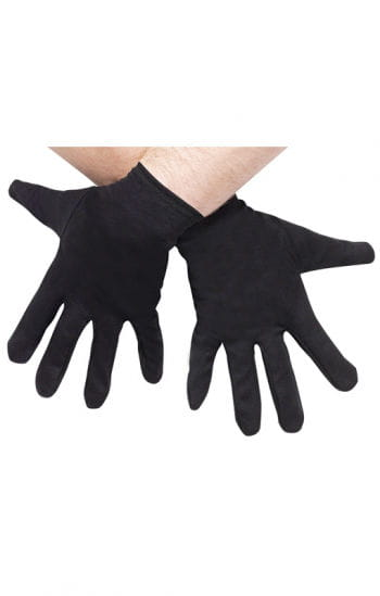 Black Costume Gloves Plus Size