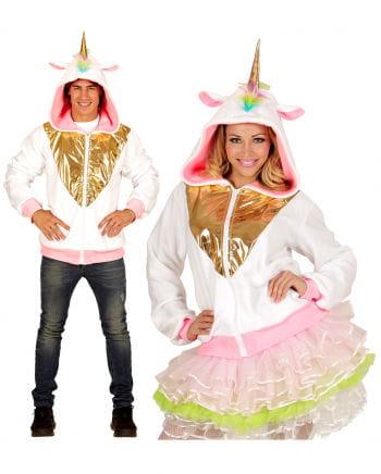 Unicorn jacket with hood for Halloween | horror-shop.com