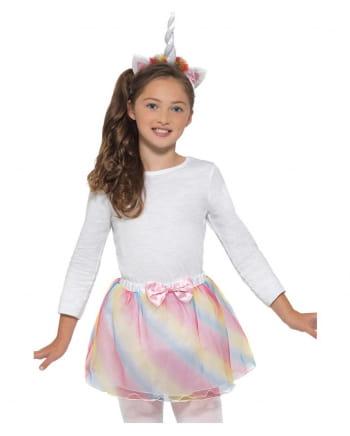 Einhorn Kinder Kostümzubehör Set
