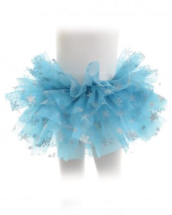 Eisprinzessin Kostüm Tutu für Kinder blau