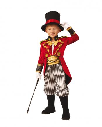 Edler Zirkusdirektor Kinderkostüm mit Hut