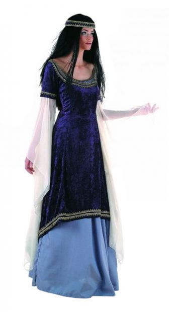 Elf princess costume purple