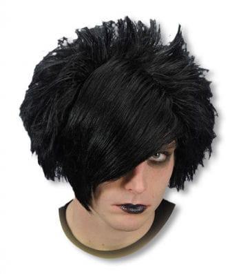 Emo Perücke schwarz