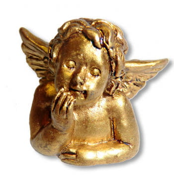 Engel Figur gold