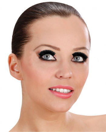 Long Black, Extra-dense Eyelashes