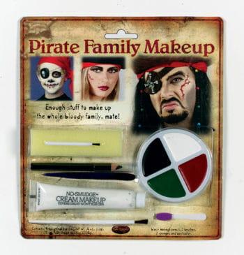 Family Pirate Make Up Set