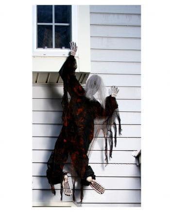Facade Climbing Skeleton Black 152 Cm