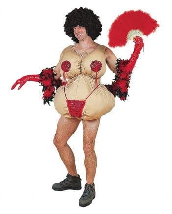 Fette Stripperin Kostüm
