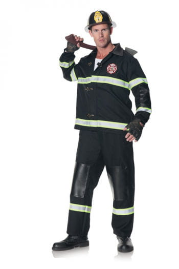 Fire Department rescuers Costume Plus Size