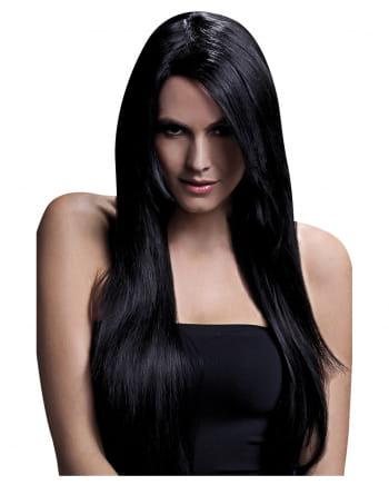 Longhair Wig Amber Black