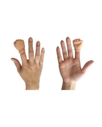 Finger puppet dolly