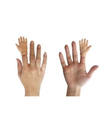 Fingerpuppe Hand High Five