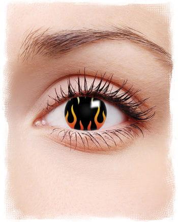 Flammen Kontaktlinsen