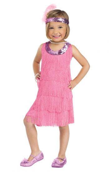Flapper Girl Toddler Costume L
