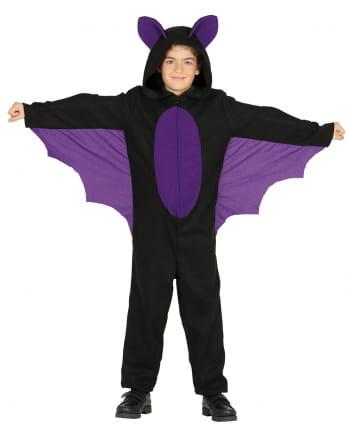 Fledermaus Kinderkostüm mit Flügel