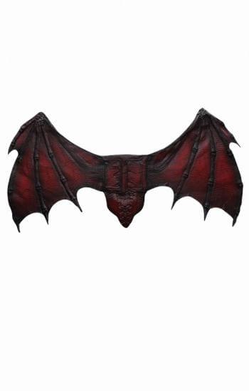 Bat wings red