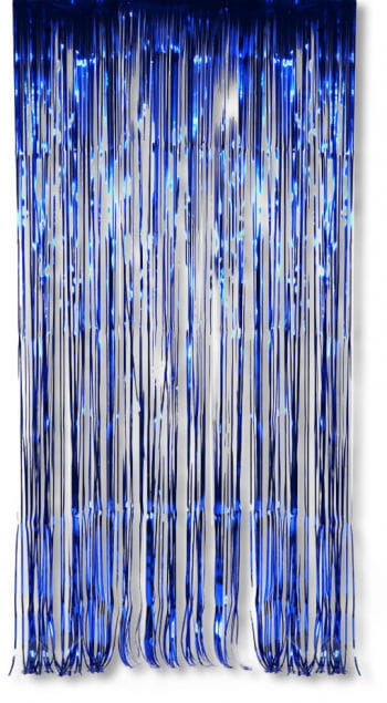 Foil Curtain Blue