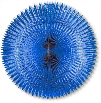 Folding Compartments Metal Foil Blue 120 Cm