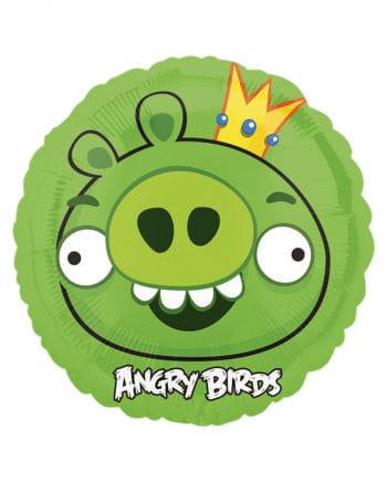 Folienballon Angry Birds King Pig