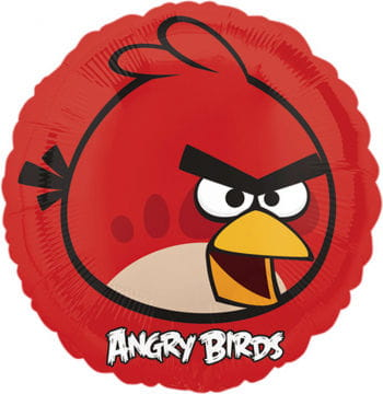 Foil Balloon Angry Birds Red