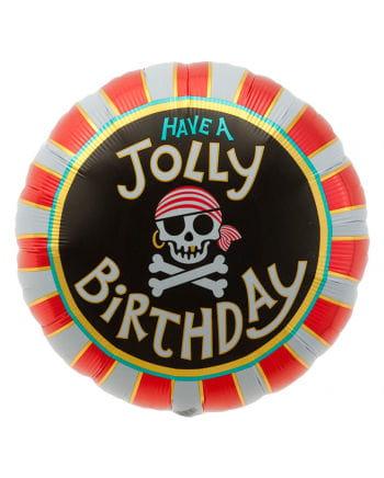 Foil balloon Jolly Birthday