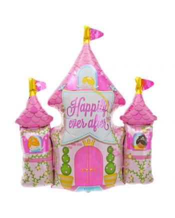 Folienballon Prinzessinnenschloss
