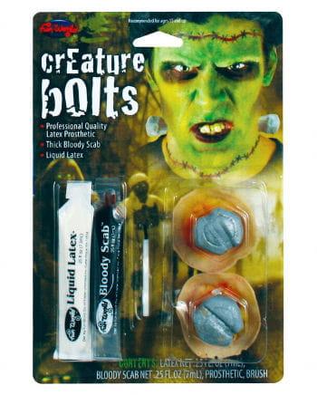 Frankenstein Schrauben Make Up Kit