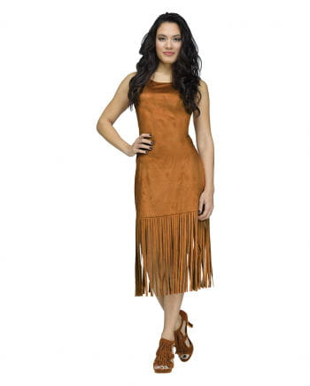 Brown Fringe Dress Mix & Match