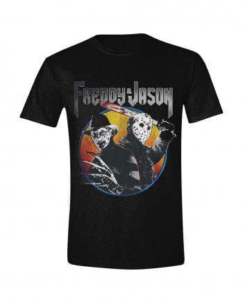 Freddy vs Jason - Concert Print T-Shirt