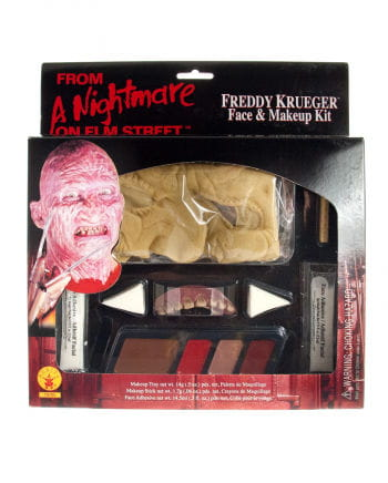 Freddy Krueger Make up Set
