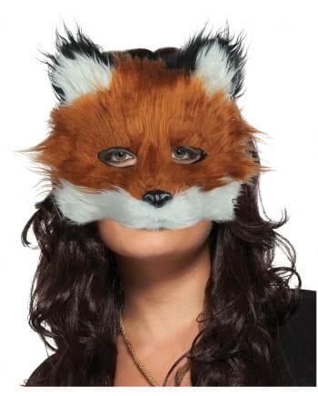 Fuchs Halbmaske aus Plüsch