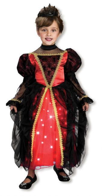 Funkelnde Gothic Prinzessin Kostüm M