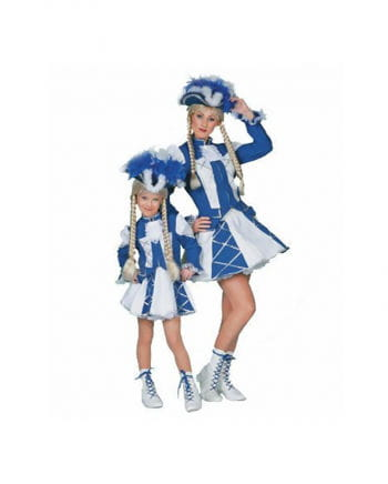 Tanzmariechen Women`s costume Blue / White Plus Size