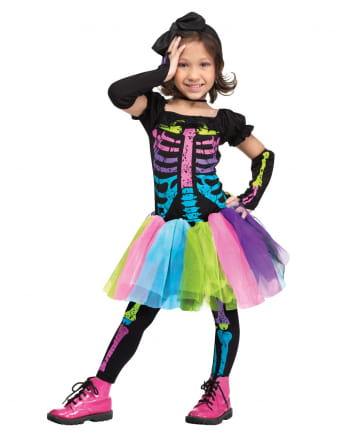 Funky Punk Skeleton Kleinkinderkostüm