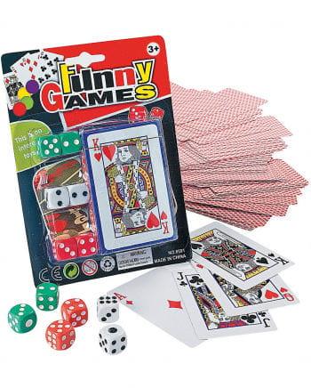 Cards & Dice Set