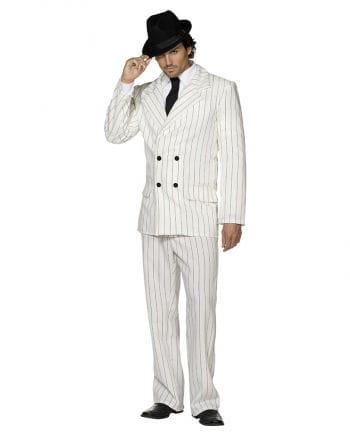 Gangster Anzug weiß