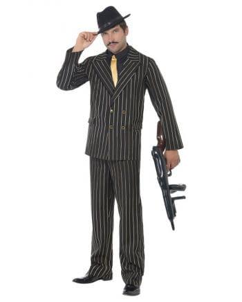 Gangster Nadelstreifen Anzug XL