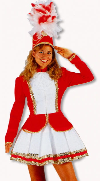 Guard costume red / white