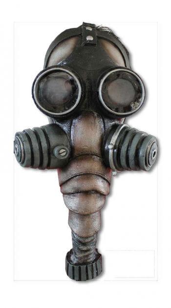 Gasmaske aus Latex