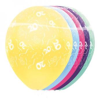 Geburtstag Ballons 20