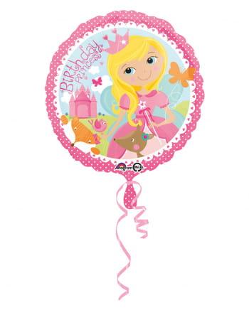 Foil Balloon Birthday Princess 43cm