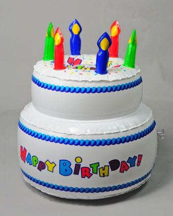 Birthday Cake inflatable