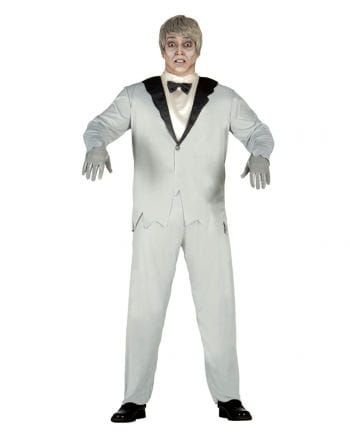 Elegant Ghost Groom Costume