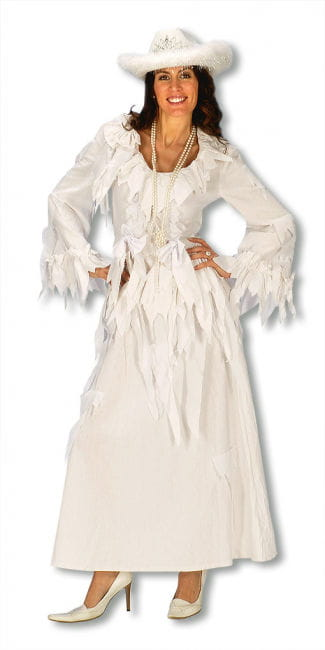 Ghost Lady Dress White S/M