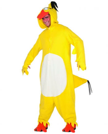 Yellow Angry Birds Chuck Onsie Overall to buy | horror-shop.com