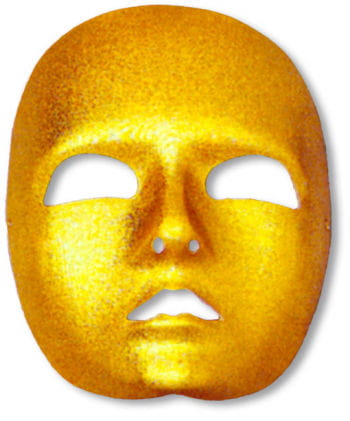 Face Mask Gold