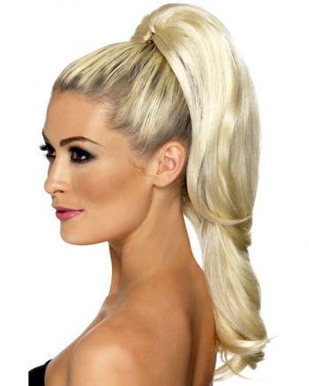 Gewelltes Haarteil Blond
