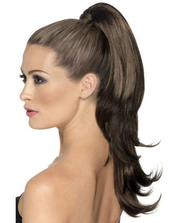 Wavy Hairpiece Brown