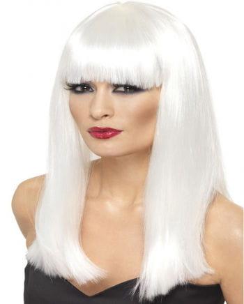 Glamourama Wig Silver White